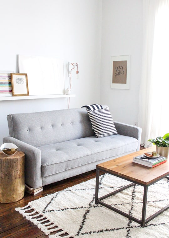 Sugar & Cloth home tour on Joss & Main!