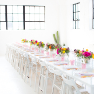 sweet and savory dinner party with aces of taste - sugar & cloth