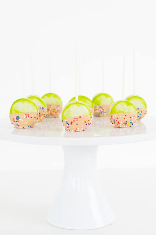DIY Candied Apple Macarons- Sugar and Cloth