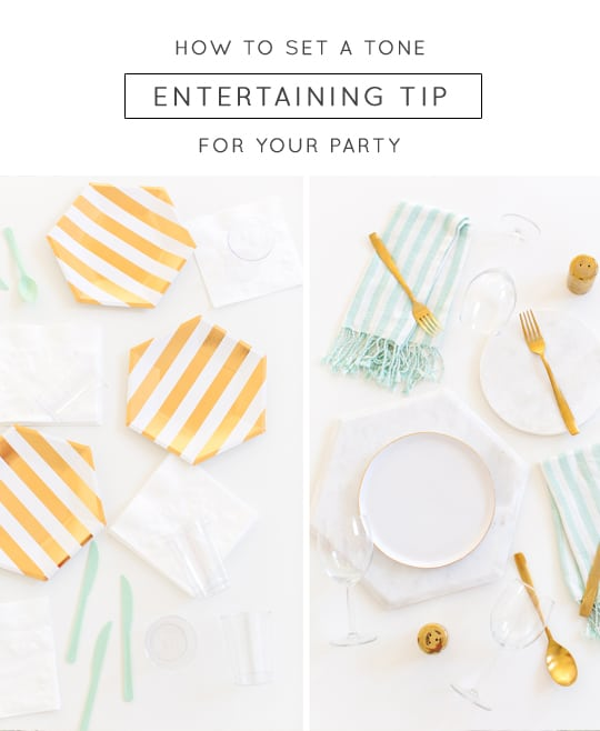 Tips for Entertaining for the Modern Host - Sugar and Cloth - Ashley Rose