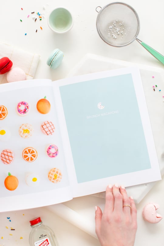 Glossary of Macarons coffee table book with Blurb - Sugar & Cloth