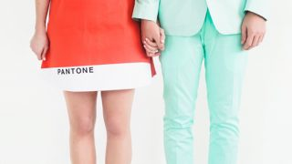 Hipster Halloween: DIY Pantone Color Combo Couples Costume