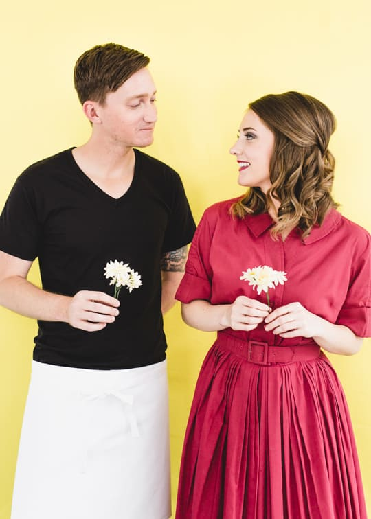 Hipster Halloween: DIY Pushing Daisies Costume - Sugar & Cloth