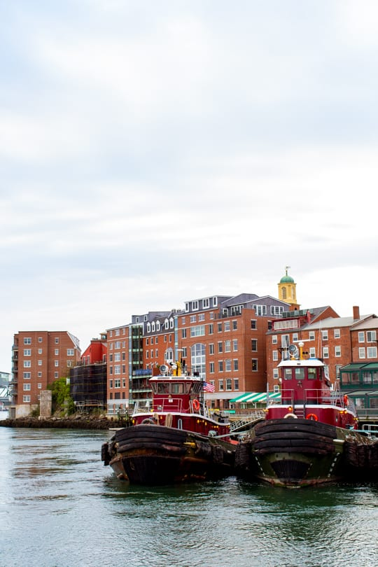Portsmouth New Hampshire with Lindt Chocolate - Sugar and Cloth