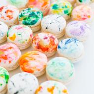 DIY Marbled Macarons - Sugar and Cloth