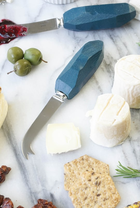 DIY Cheese knives - Sugar and Cloth