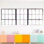 DIY Color Block Storage