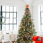 DIY tree topper & our holiday space with martha stewart! - sugar and cloth