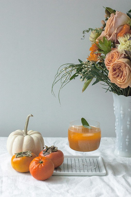 Pumpkin persimmon punch 6