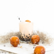 Bubbly Spiked Dirty Chai Latte Cocktail Recipe - Sugar and Cloth