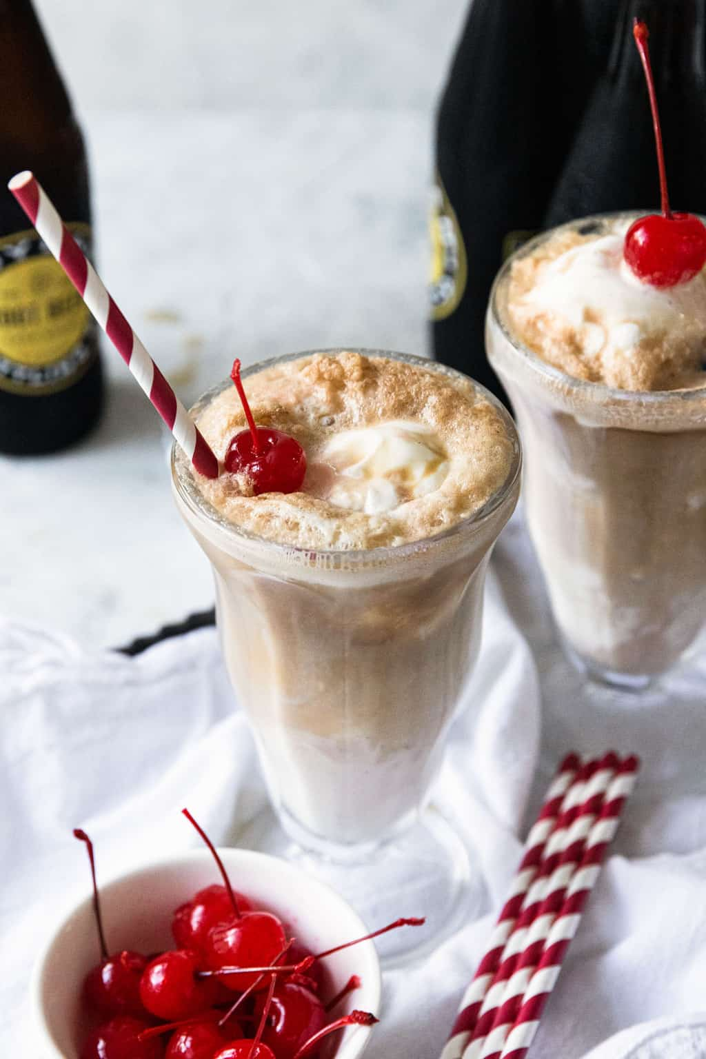 chocolate root beer float + sugar and cloth 2