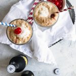 photo of the classic root beer float topping, a cherry by top Houston lifestyle blogger Ashley Rose of Sugar & Cloth
