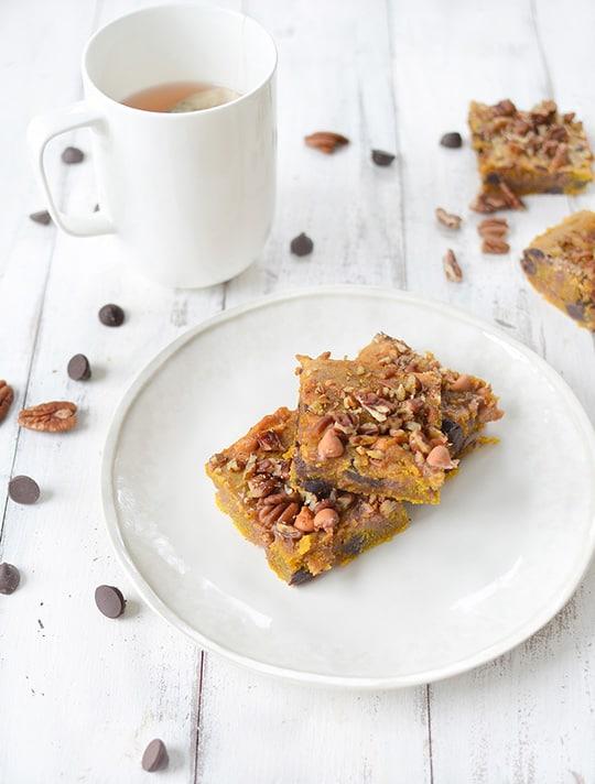 Pumpkin Blondies Recipe | Sugar & Cloth