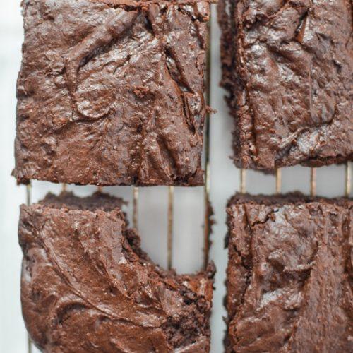 Gingerbread Brownies Recipe - Sugar & Cloth