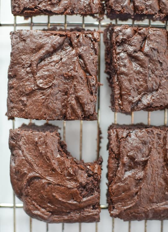 Gingerbread Brownies Recipe - Sugar & Cloth