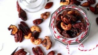 Gingerbread Candied Nuts Recipe