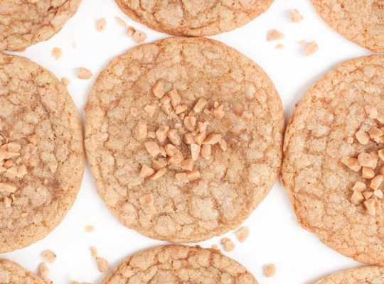 Brown Butter Toffee Cookie Recipe - sugar and cloth
