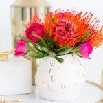 DIY Patterned Vase