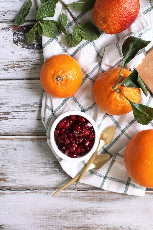Winter Fruit and Citrus Salad Recipe - Sugar & Cloth - houston blogger - ashley rose