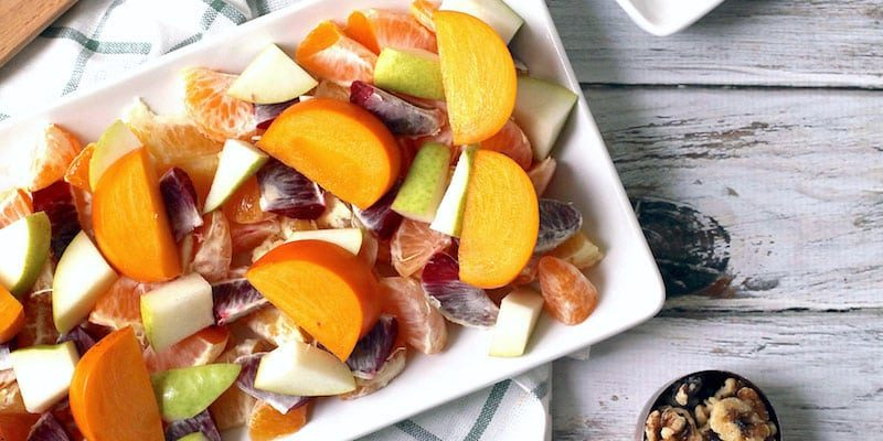 Winter Fruit & Citrus Salad Recipe - Sugar & Cloth