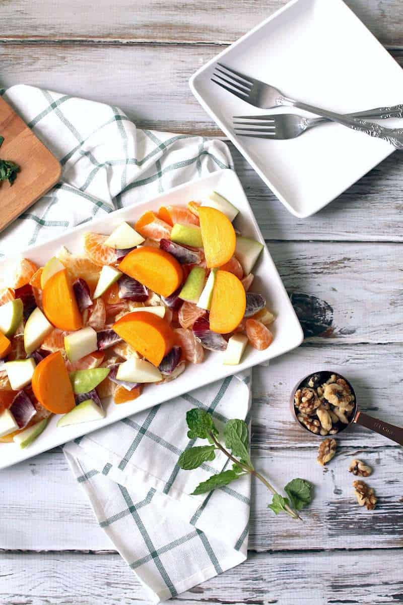 Winter Fruit and Citrus Salad Recipe - Sugar & Cloth - houston blogger - ashley rose
