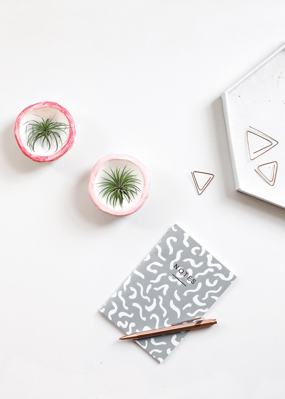 mini DIY plant pots - sugar and cloth - planter - spring