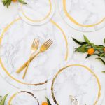 Decorative DIY Marble Plates