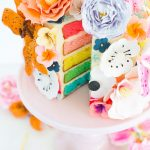 Because Why Not: DIY Sugar Flower Cake