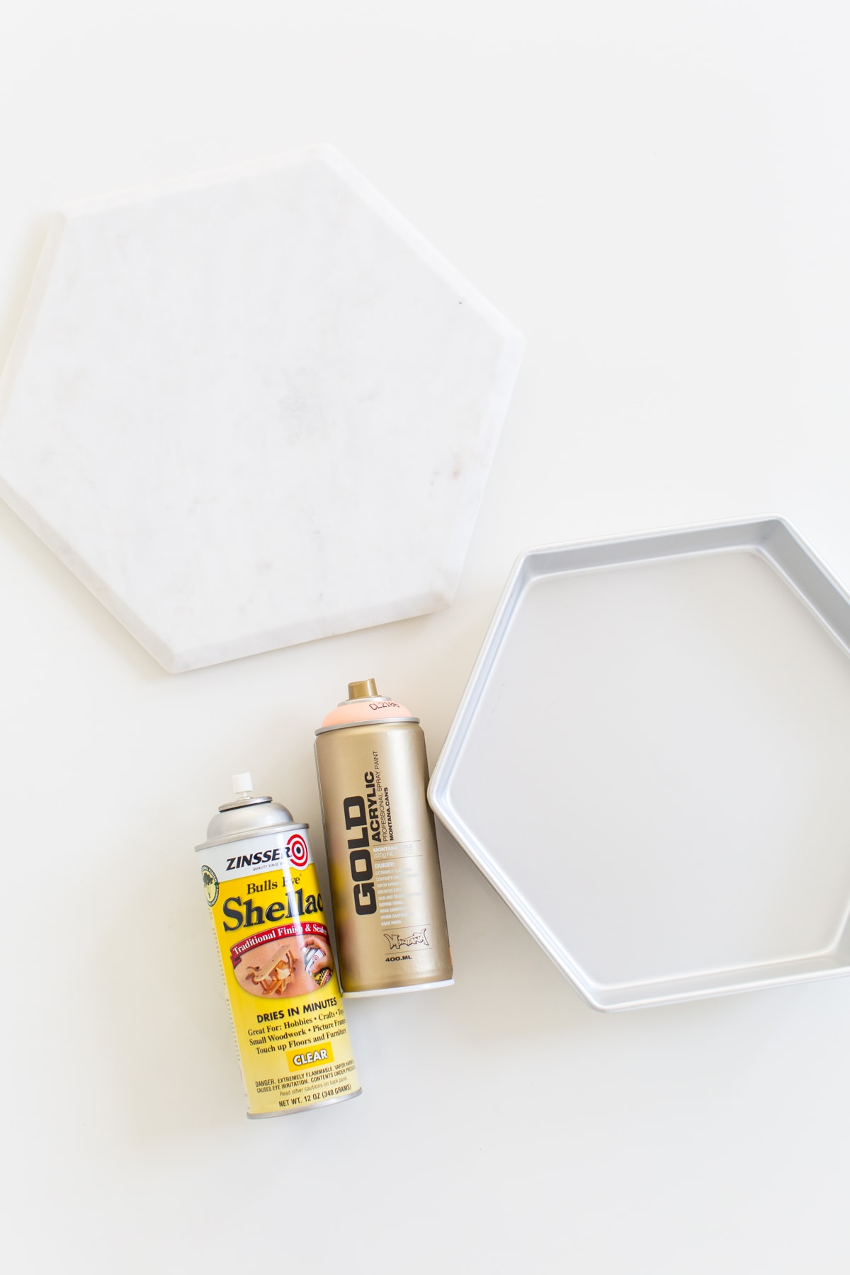 DIY Storage vanity tray - sugar and cloth