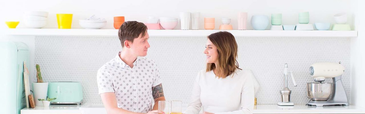 ashley rose and jared smith of sugar and cloth - houston blogger