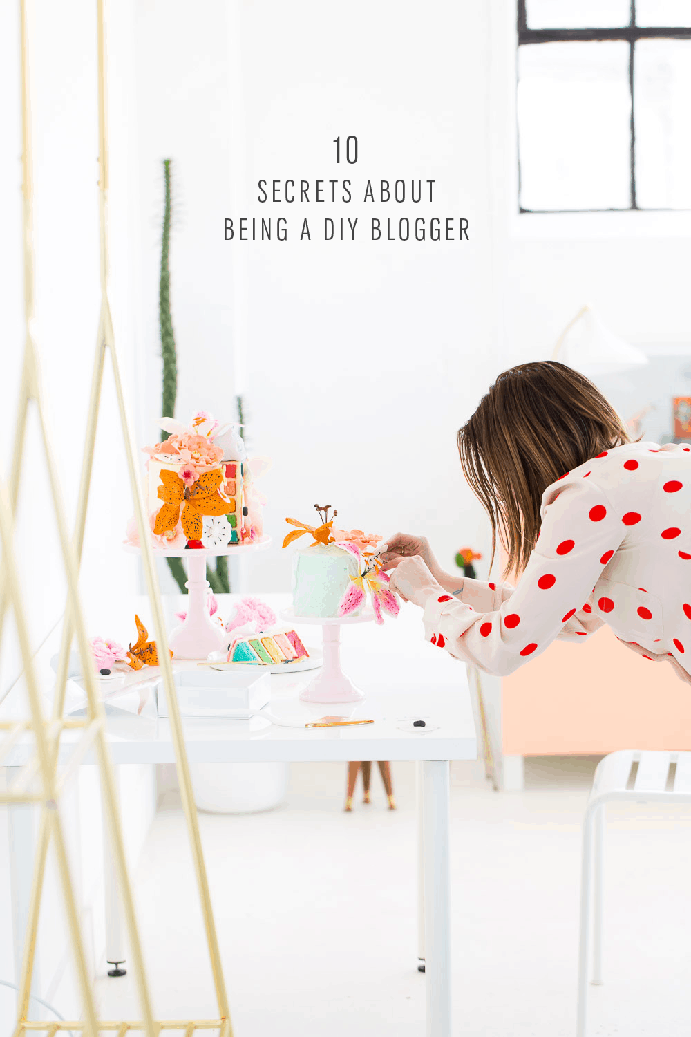 10 Secret Things About Being a DIY blogger you probably didn't know - sugar and cloth - ashley rose