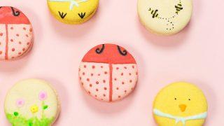 DIY Easter Macarons & Paintable Royal Icing Recipe