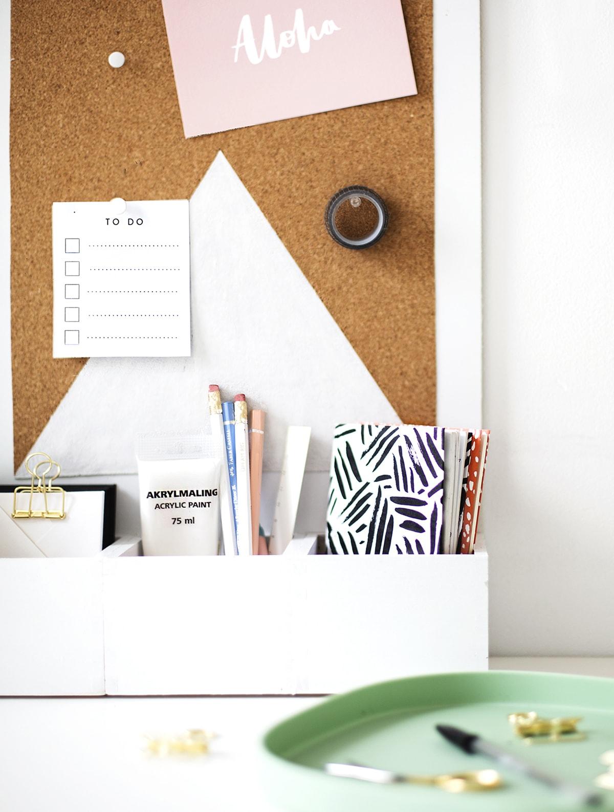 Diy desk organizer sugar cloth - Diy desk organizer ideas ...