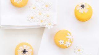 DIY Easter Wildflower Macarons