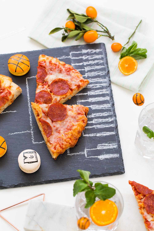 3 DIY Ideas for a modern basketball watch party! - sugar and cloth