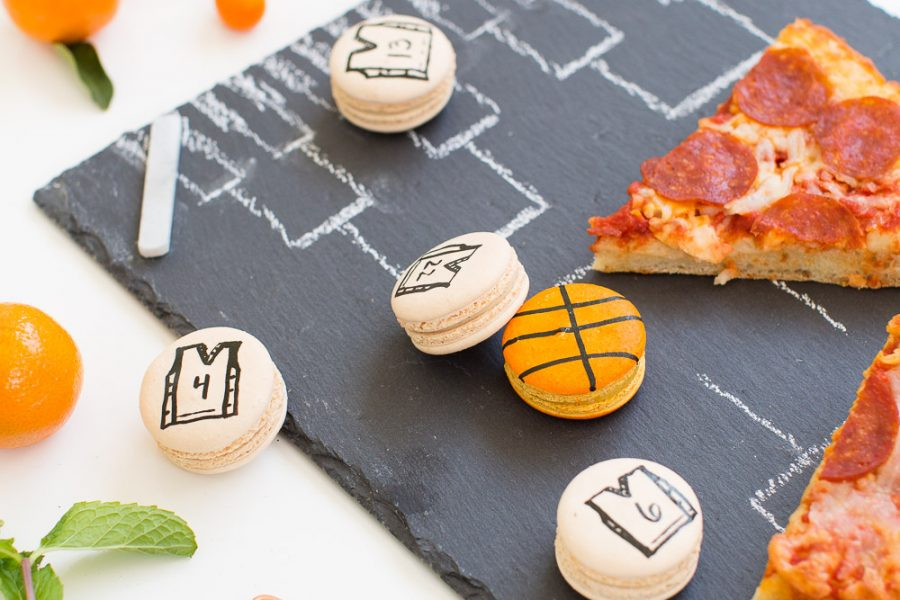 3 DIY Ideas for a modern basketball watch party! - sugar and cloth