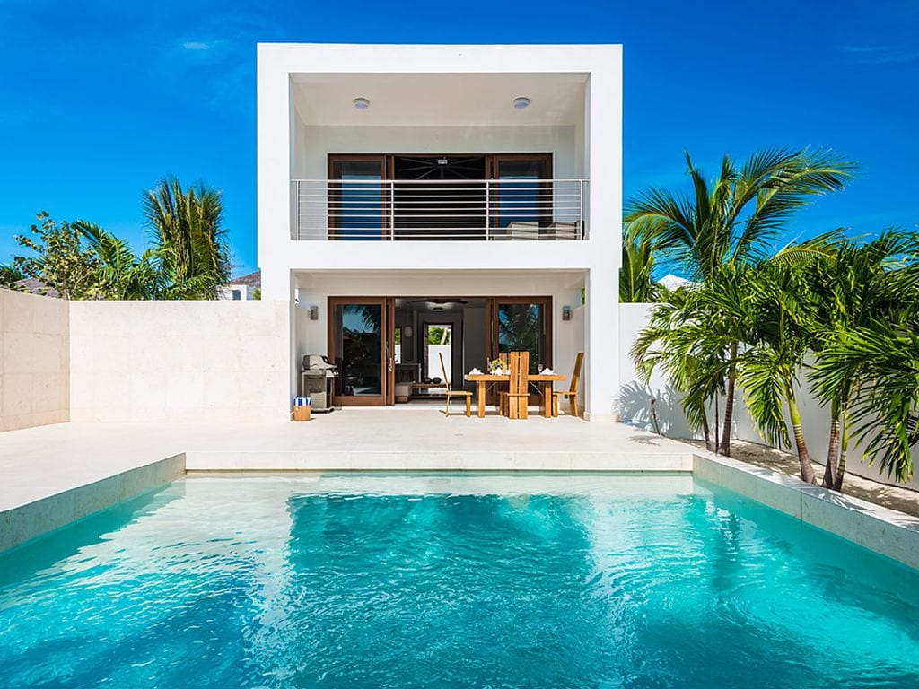 a quaint beach villa for two at Turks & Caicos