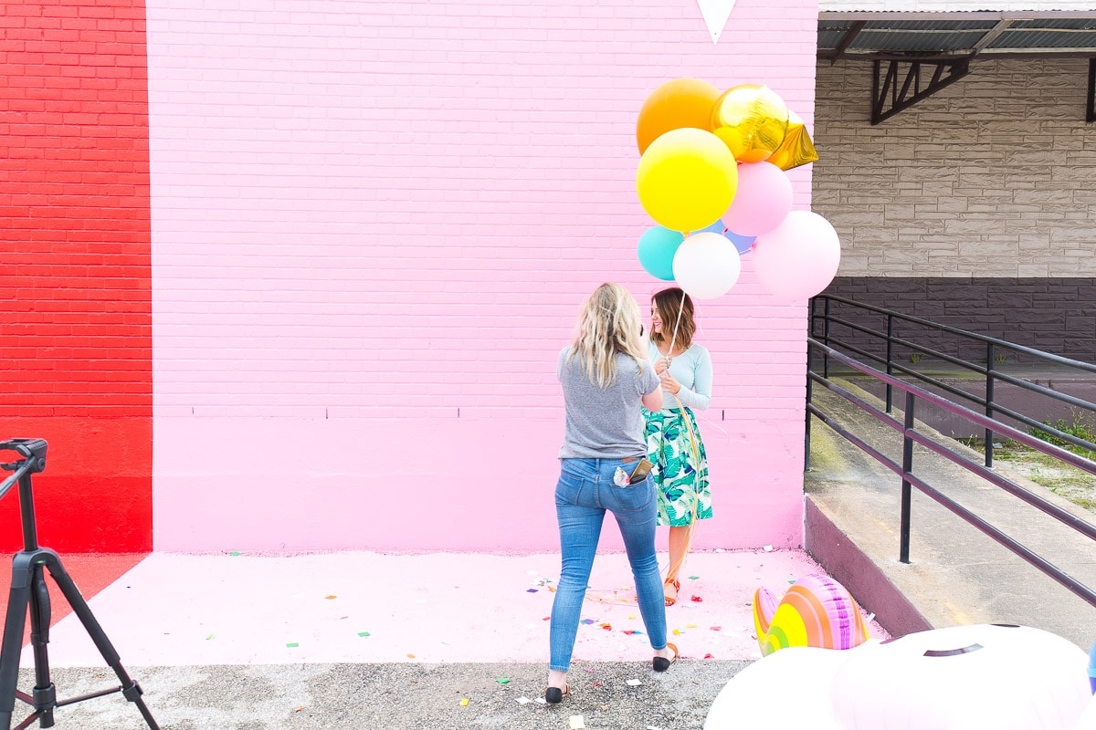 All about Sugar & Cloth! - Ashley Rose, Houston Blogger - Houston Color Wall