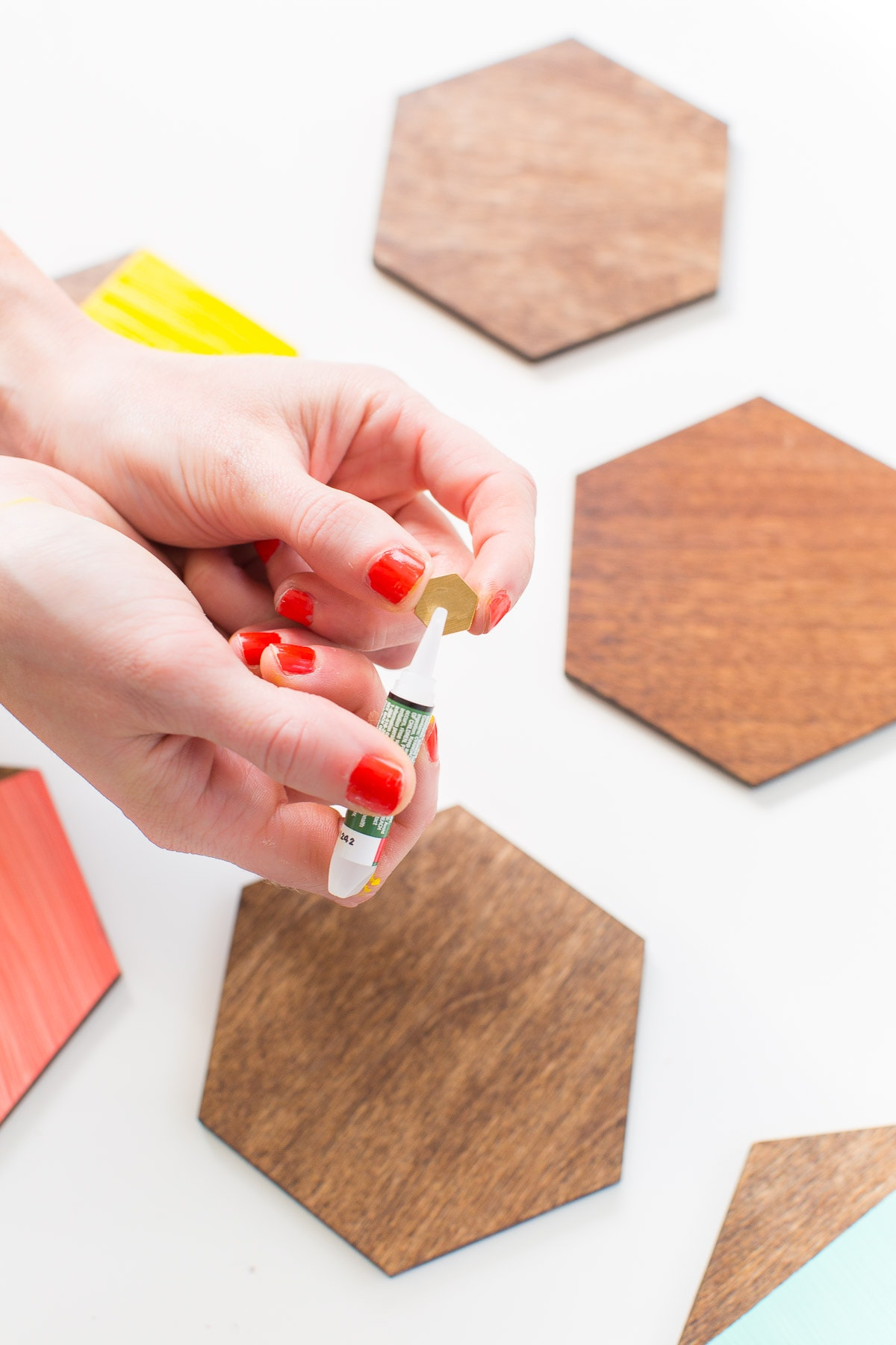 DIY Mini Wooden Serving Boards