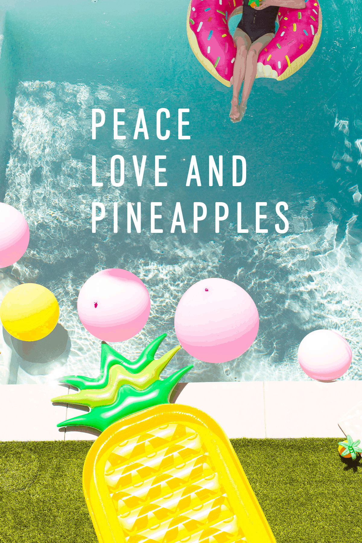 Lounging poolside cool with our summer playlist on Spotify & summer quotes! - sugar and cloth - houston blogger