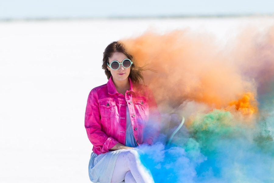 be you, you are enough: our salt flats videos and photo shoot - sugar and cloth - houston blogger - youtube