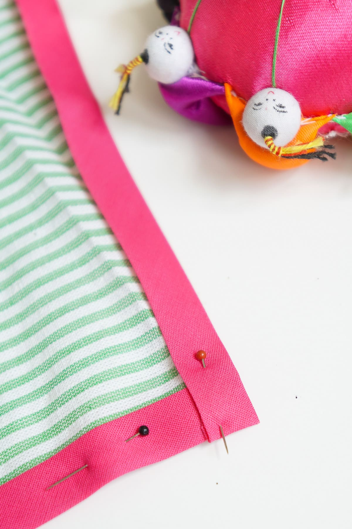 DIY Seersucker Tea Towels - Sugar & Cloth