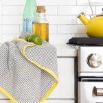 DIY Seersucker Tea Towels