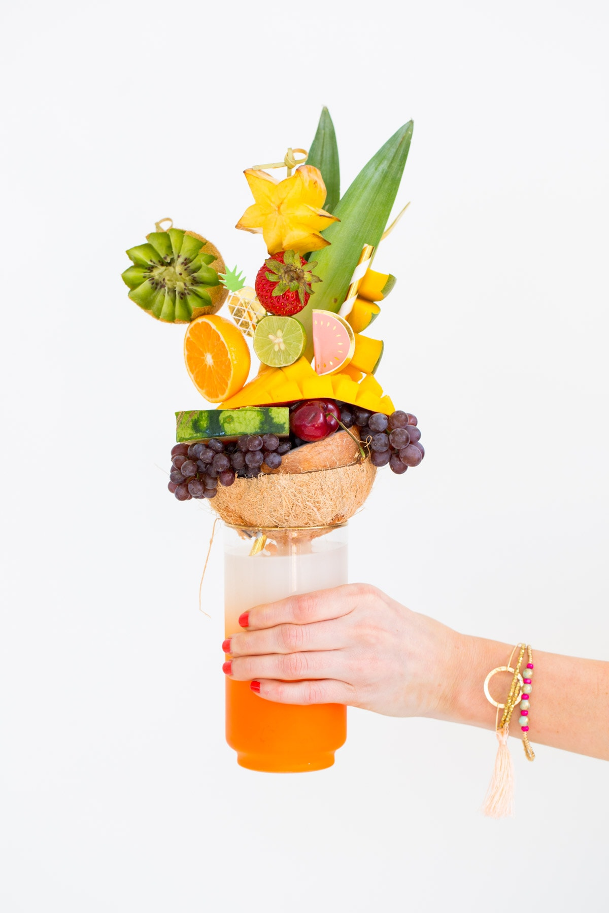 How to make tropical fruit freakshakes - sugar and cloth
