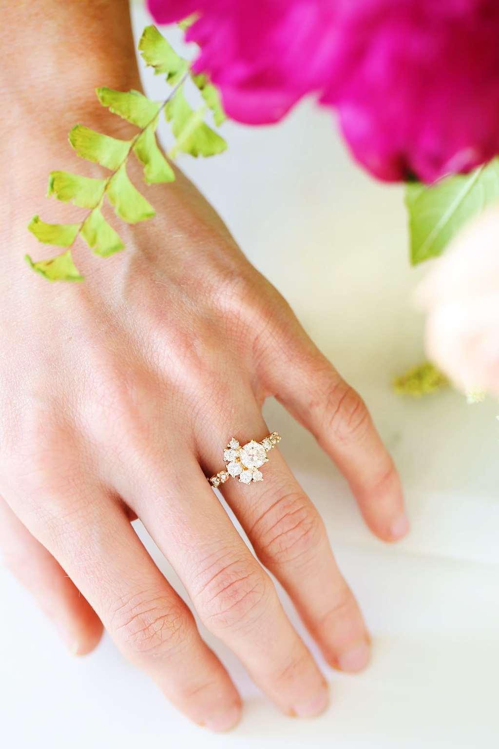 Sugar And Cloth Engagement Ring Sugar Cloth