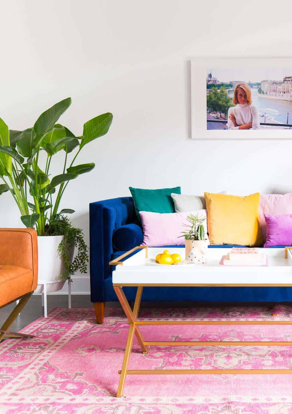 Living Room Makeover How To Choose The Perfect White Wall Paint