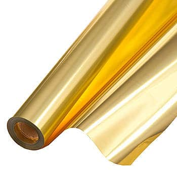 This Metallic Gold Adhesive Vinyl is one of Sugar & Cloth's favorite DIY supplies.