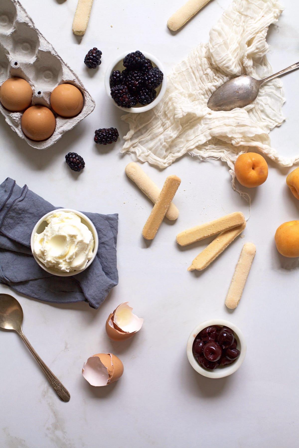 Summer Fruit Tiramisu Recipe-Sugar & Cloth - Recipe - Houston Blogger - Cakes