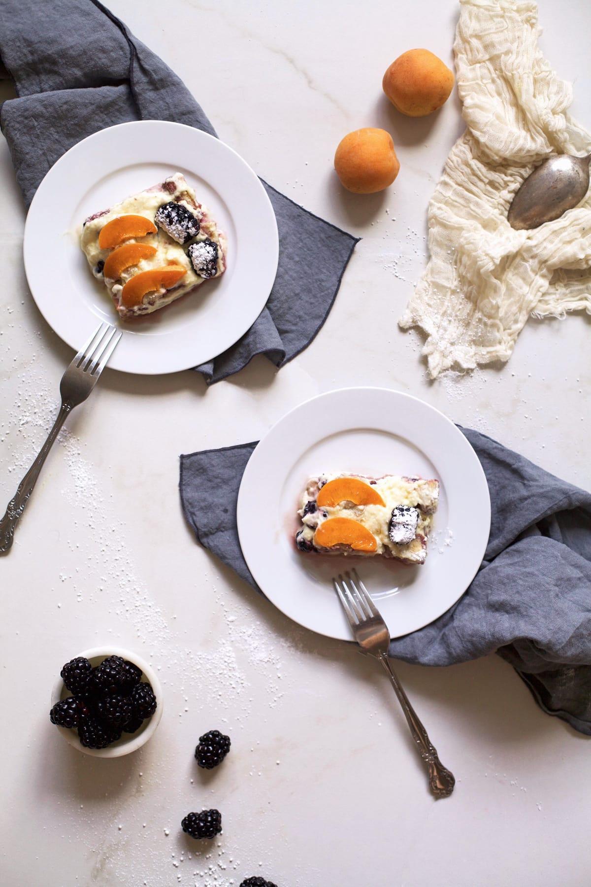 summer fruit tiramisu Recipe - Sugar & Cloth - Recipe - Houston Blogger - Cakes