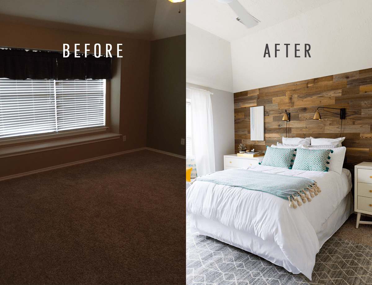 a before and after simple bedroom makeover for zach 11491 | ba zach caitlin bedroom makeover 1